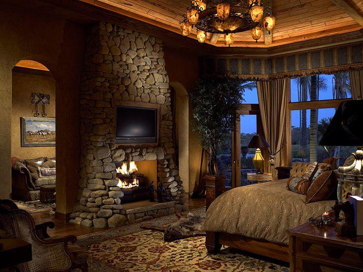 37 best master suite images on pinterest master bedrooms for Master bedroom corner fireplace