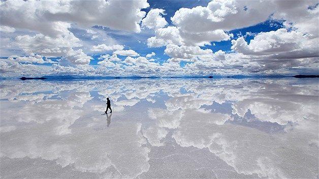 Gurun garam Salar de Uyuni, Bolivia