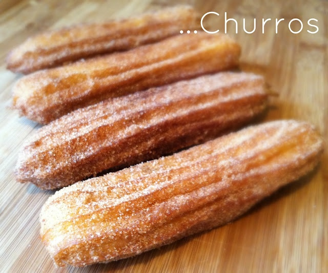 Homemade Churros...Enough Said.
