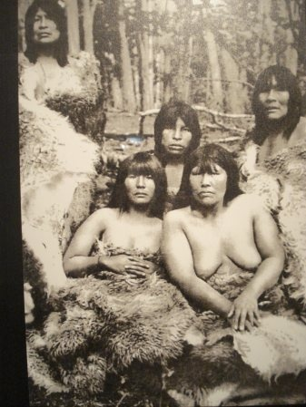 Selk'nam indigenous people of Tierra Del Fuego, Chile. Photographed by Martin Gusinde, in 1923.
