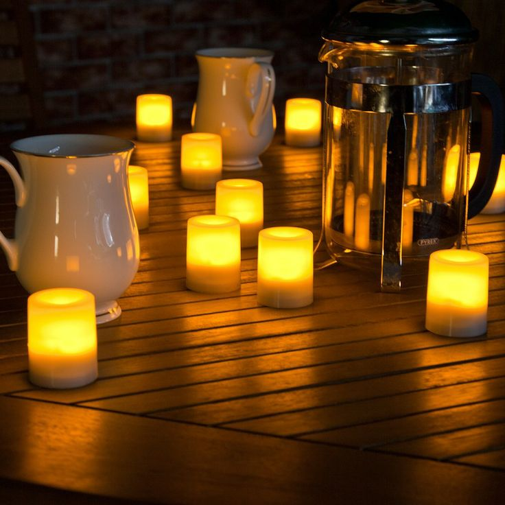 Battery Operated Outdoor #LED #Waterproof #Candle With
