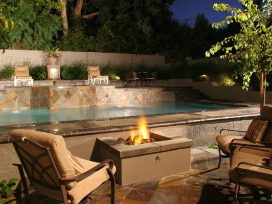 Fresh Pool Patio Design Ideas