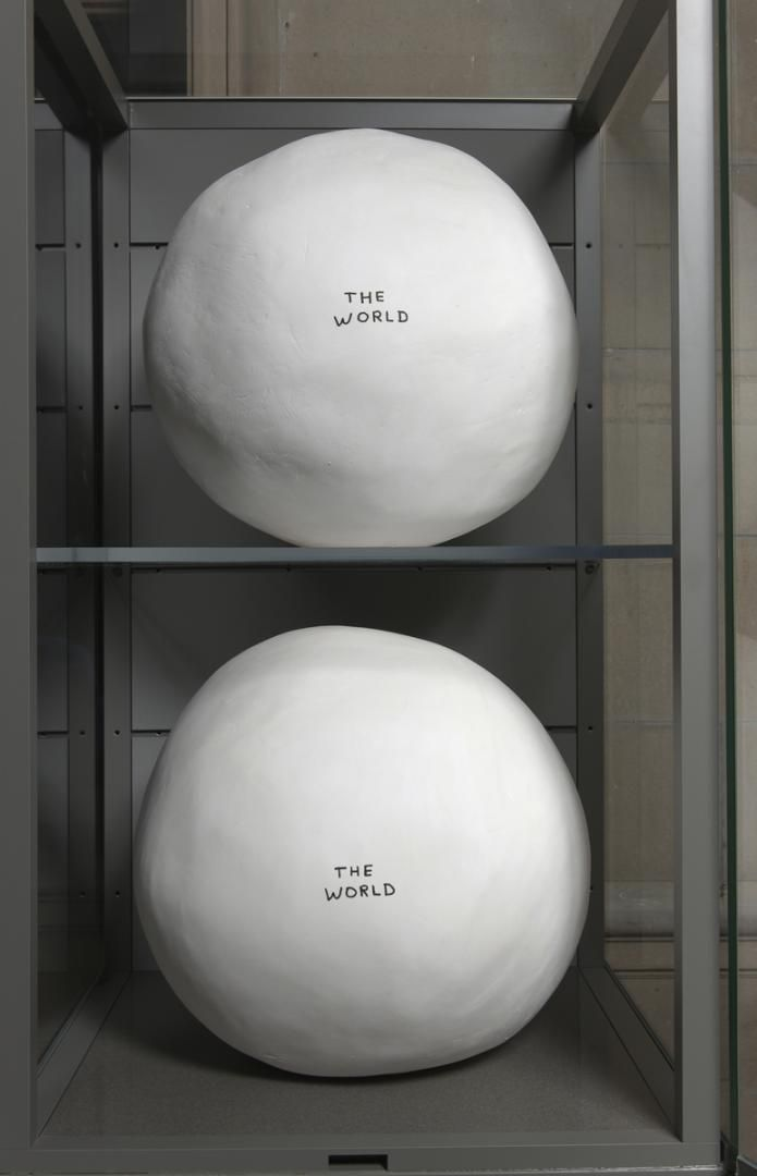 David Shrigley - 'World One' and 'World Two'