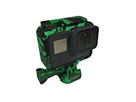 T.N.A.C. Gator Green Camo Housing Compatible with GoPro® Hero 5 and Hero 6