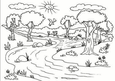 Paisajes Naturales Para Dibujar Acolor E1550003989929 Paisajes Naturales Dibujo Paisaje Para Colorear Dibujos Para Colorear Paisajes
