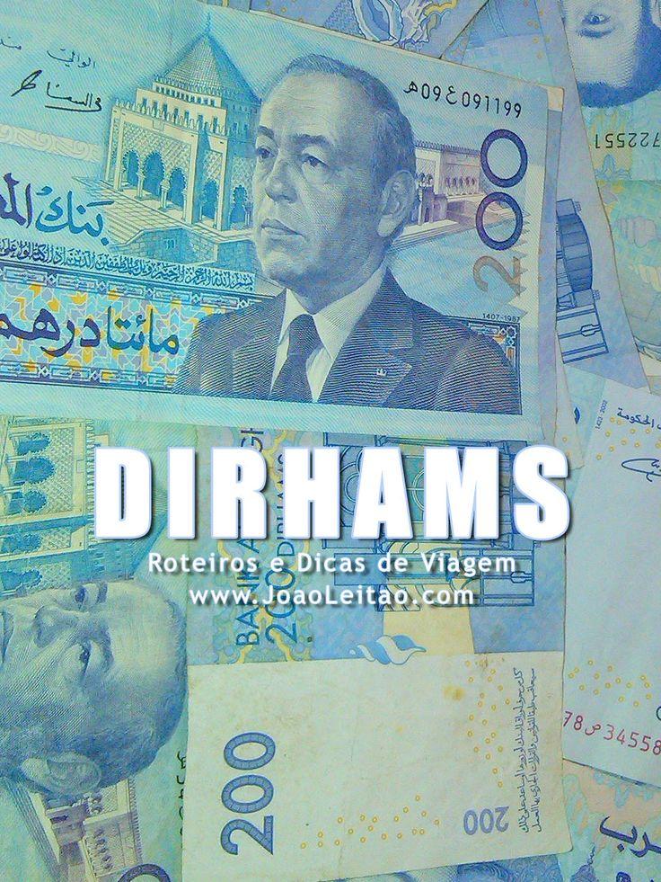 Moeda de Marrocos, dinheiro de Dirhams marroquinos