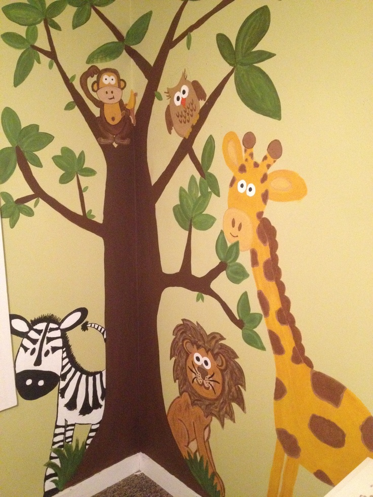 17 best Wall mural painting images on Pinterest | Murals, Play rooms ...