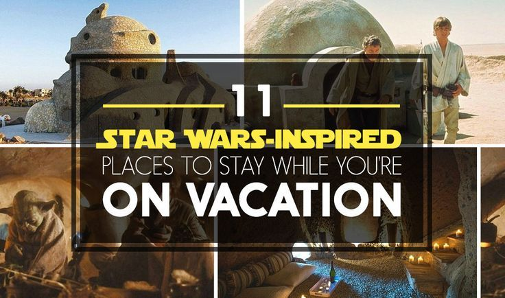 11 Incredibly Cool Places Where You Should Totally Have A Star Wars Staycation