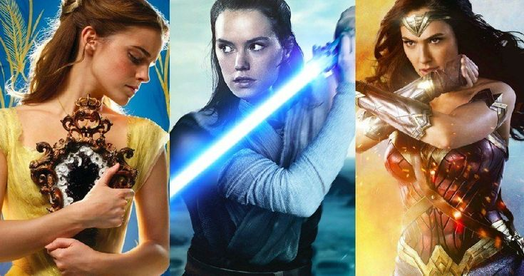 2017's Top Movies All Had Female Leads -- The Last Jedi, Beauty and the Beast and Wonder Woman top the 2017 box office charts all with strong female characters in the lead. -- http://movieweb.com/biggest-2017-movies-female-leads/
