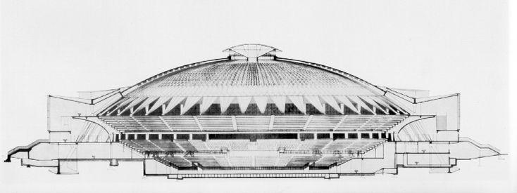 palazzo dello sport Pier Luigi Nervi - Cerca con Google