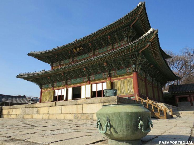 El palacio de Changdeokgung es uno de los 5 palacios en Seúl. Fue construido bajo la dinastía Joseon en el siglo XIV