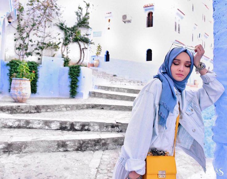 """29.2k Likes, 147 Comments - ALEXANDRA GOLOVKOVA (@golovkova.s) on Instagram: """"Голубая жемчужина Марокко  весь городок окрашен в голубые и белые цвета! Никогда не видела ничего…"""""""