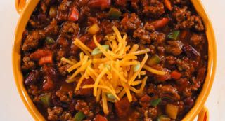 The Big Game Chili: Our most colorful chili starts with McCormick® Chili Seasoning Mix and your choice of vegetables.