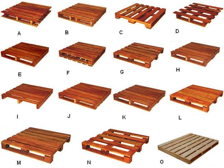 Tipos de paletes