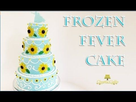 Frozen Fever Cake from Creative Cakes by Sharon