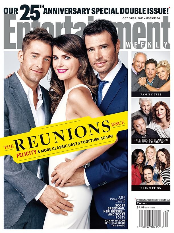 EW Reunions cover: 'Felicity,' 'Bring It On,' Family Ties,' 'Rocky Horror Picture Show,' more | EW.com