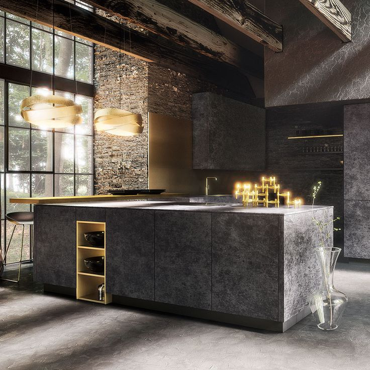 272 best kitchens images on pinterest kitchen modern for Kitchen ideas elle