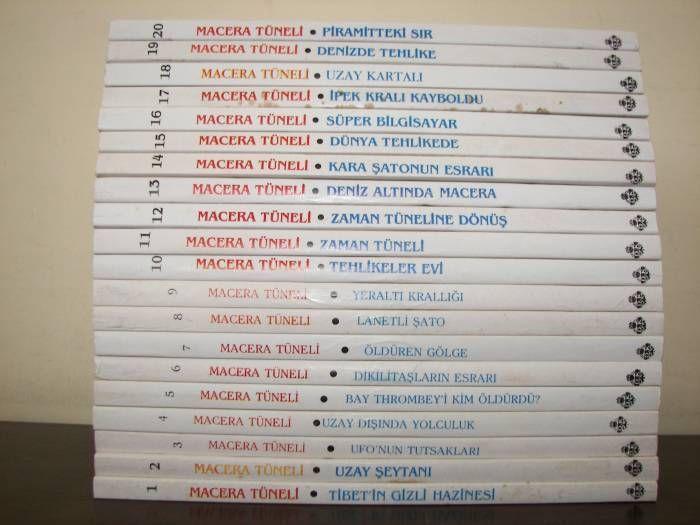 Kendi Maceranı Kendin Seç Kitapları - 20 Eserde Efsane Macera Tüneli Serisi! - Sayfa 2 / 2 - Geekyapar!
