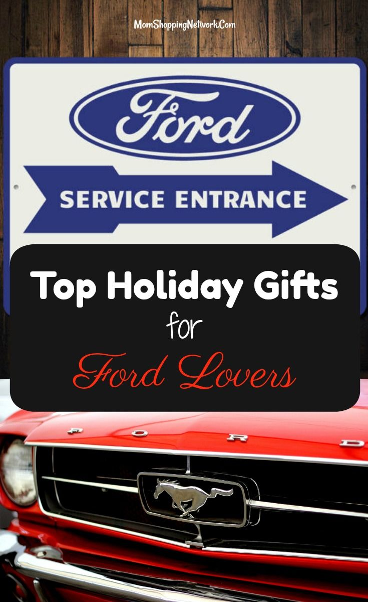 Found The Top Holiday Gifts For Ford Lovers Score