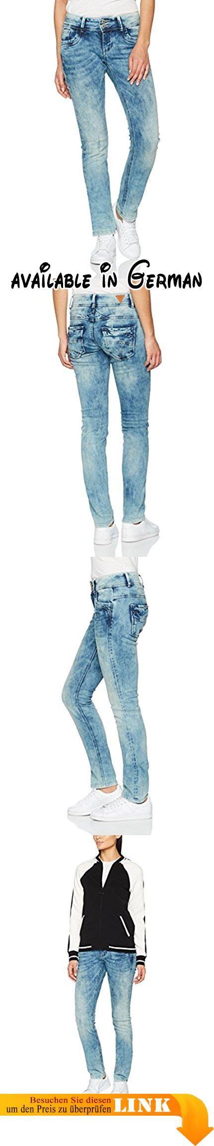 M.O.D Damen Straight Jeans Larissa Blau (Fall Blue 1368), W29/L32. schicke Damen-Jeanshose des Jeans-Labels M.O.D Miracle of Denim. dezente Waschung erzeugt einen lässigen Look. Top-Qualität, sehr gute Verabeitung, hoher Tragekomfort durch Elasthan-Anteil. gerade geschnittene Beine, normal geschnittene Oberschenkel. Medium-Waist - normale Leibhöhe #Apparel #PANTS