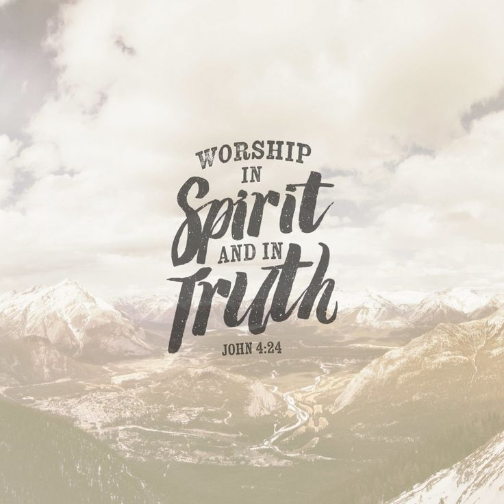 Does God demand our worship? Pocket Fuel Daily Devotional On John 4:24 → http://pktfuel.com/spirit-and-truth-worship/