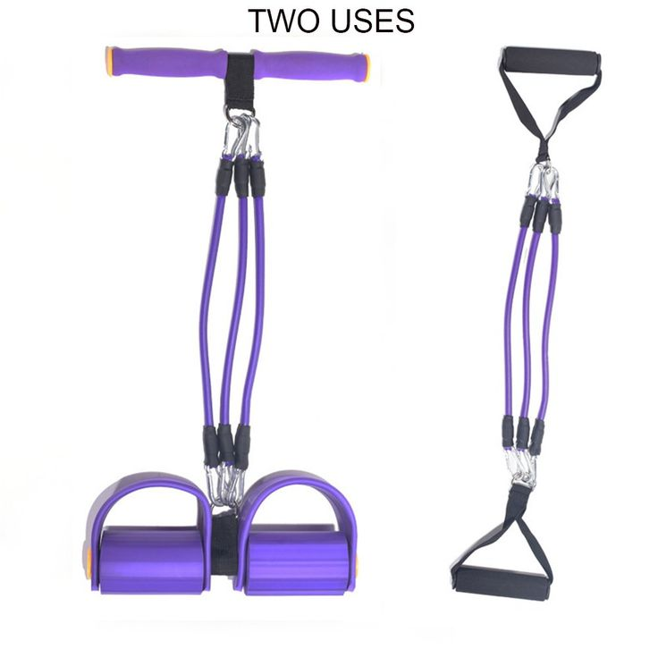 QANGEL Fitness Sit-up Spring Exerciser Detachable Leg Exerciser Bodybuilding Chest Expander Latax Tube Elastic abdominal Pull Rope Training Equipment (purple). This Spring Exerciser is made of environmental NBR, high tensile strength, good elasticity. Lost fat and shape your body: Easily and Safely tone and tighten your waist, leg and arm, relaxing your shoulder. Core Sculpting exercises using exerciser pulley to avoid bunching/pinching your skin. Complete Fat Burning Cardio with…