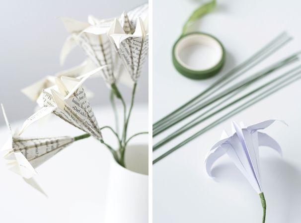 1000 ideas about papierblumen falten on pinterest tissue flowers origami anleitungen and. Black Bedroom Furniture Sets. Home Design Ideas