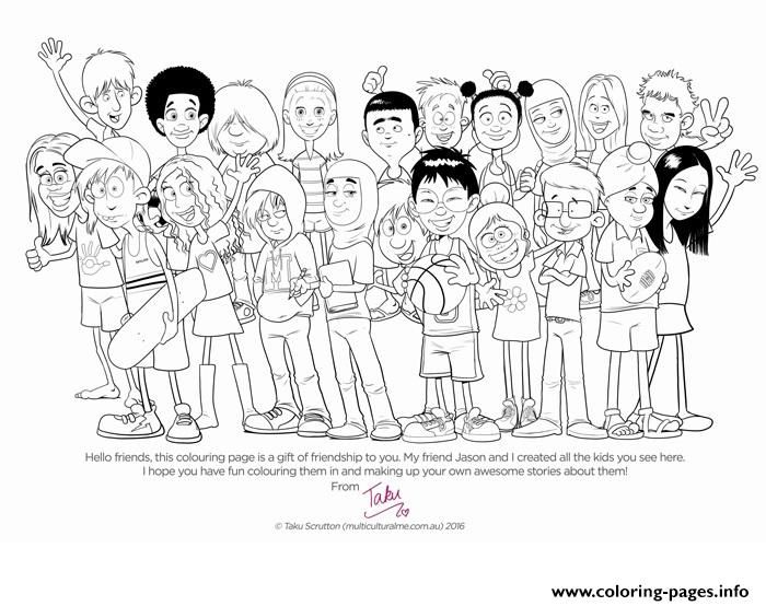 Image result for diversity colouring pages (With images