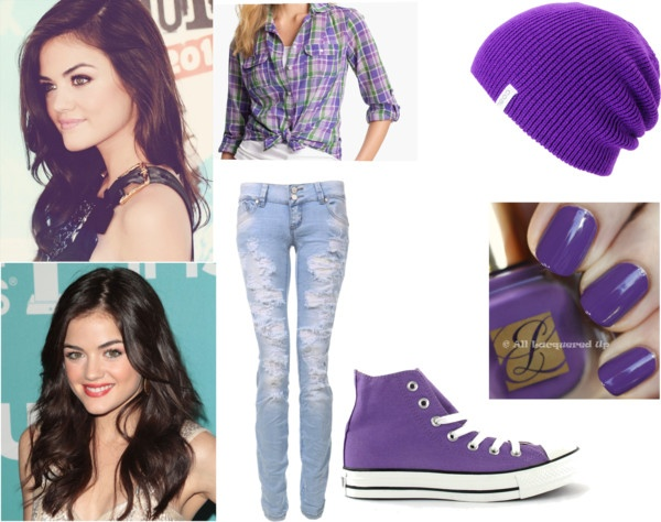 """Lucy Hale Outfit 2"" by caitlindick ❤ liked on Polyvore"