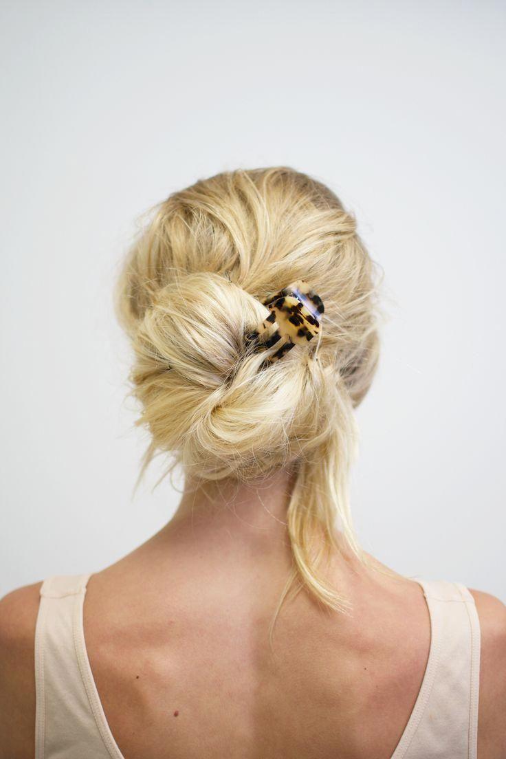Mini Claw Hair Clip   Claw hair clips, Long hair styles ...