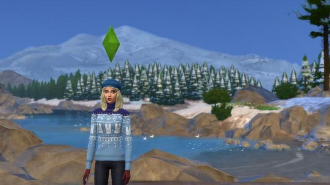 how to Sims 4 to make a winter