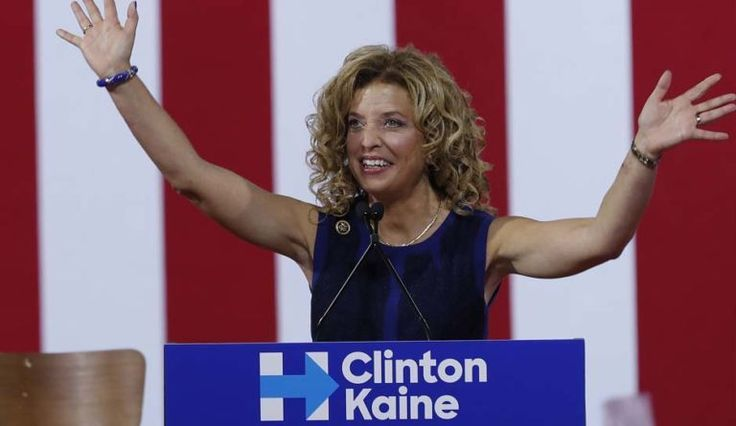 THE LATEST ON MOTION TO DISMISS THE CLASS ACTION LAWSUIT AGAINST THE DNC AND FORMER DNC CHAIR // July 23, 2016, DNC Chairwoman, who is a defendant in the class action lawsuit, speaks at a Clinton campaign event.