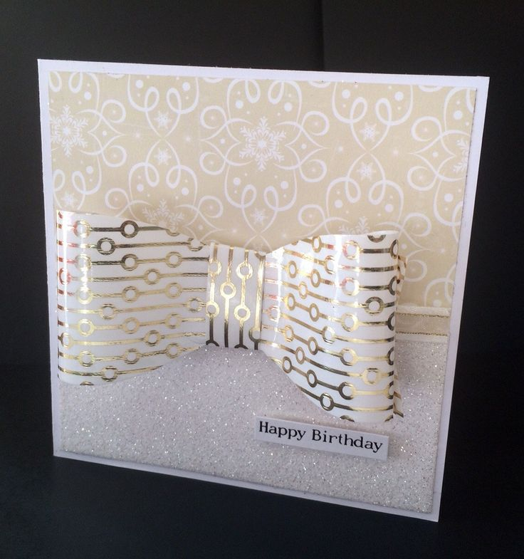 Elegant Happy Birthday, Wedding, Engagement or other Special Occasion Card by CatkinsCrafts on Etsy