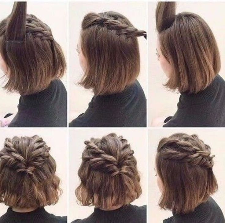 24 Unique Fancy Hairstyles For Short Hair Prom Hairstyles For Short Hair 2018 New Site In 2020 Prom Hairstyles For Short Hair Braids For Short Hair Fancy Hairstyles