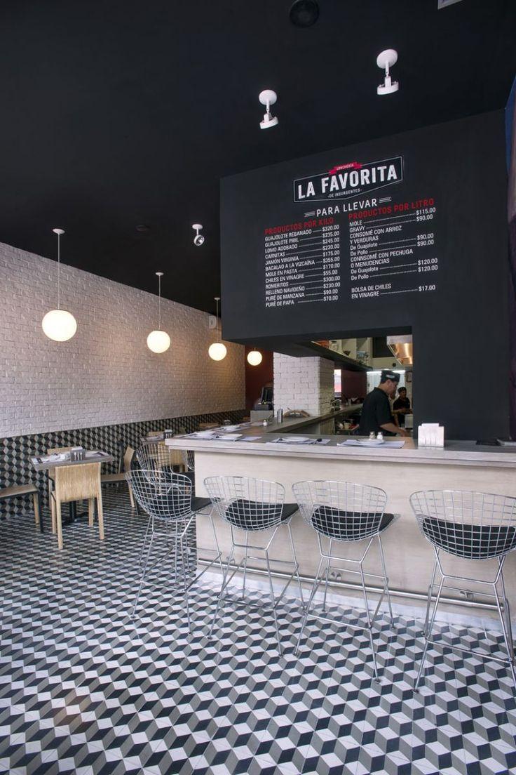 La Favorita Restaurant by Arco Arquitectura Contemporánea, Mexico - Retailand Restaurant Design