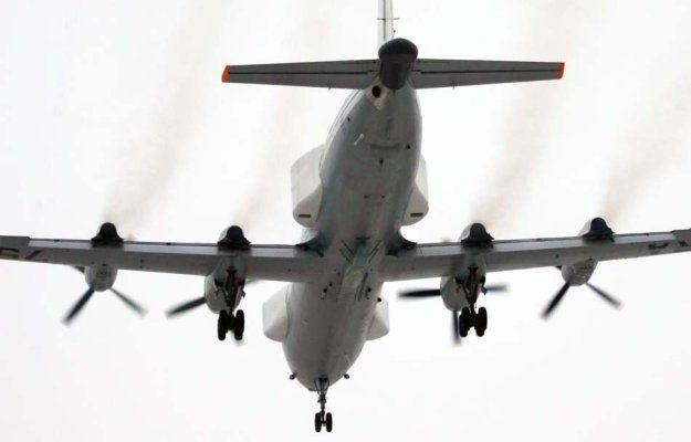 Il-22PP Porubschik electronic countermeasures plane
