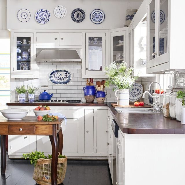 Kitchen Inspo In 2020 White Kitchen Rustic Green Kitchen Designs Kitchen Design