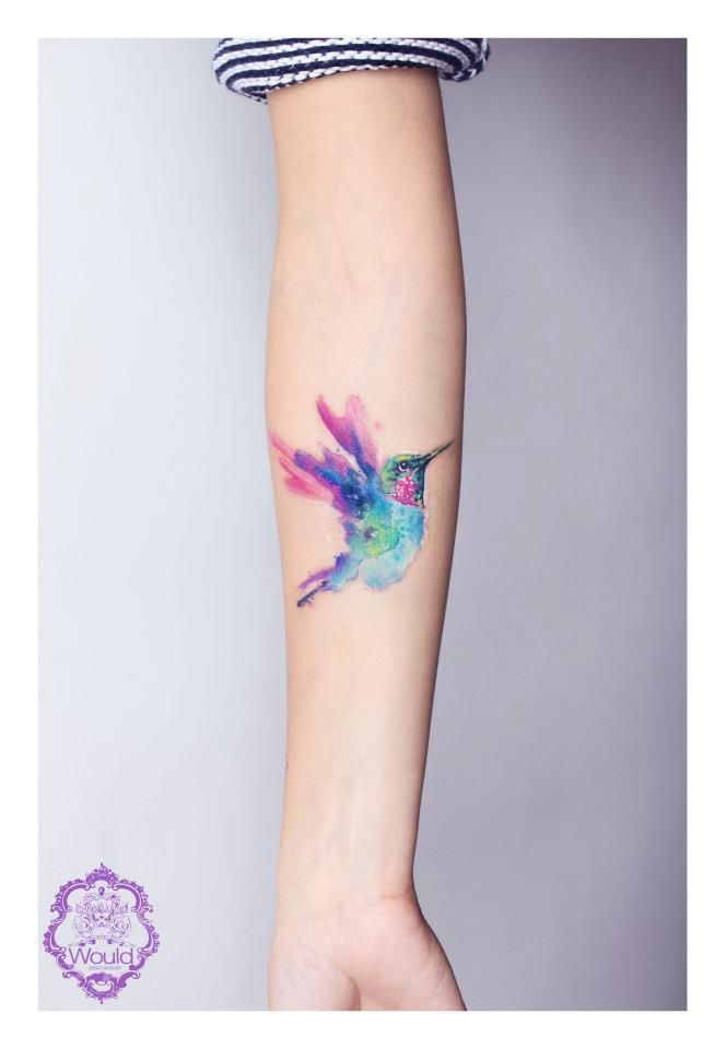 Small Size Tattoo Designs: 14-medium-size-watercolor-tattoo-designs-top-famous-pretty