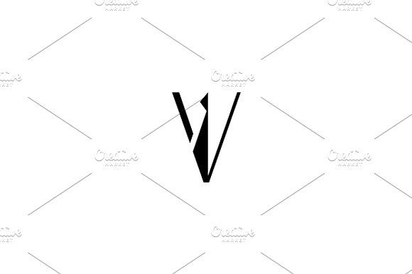 Vip logo Templates V logo. Unusual Logo template isolated on a white backgroundVector files, fully editable. Includes by Steinar Logo