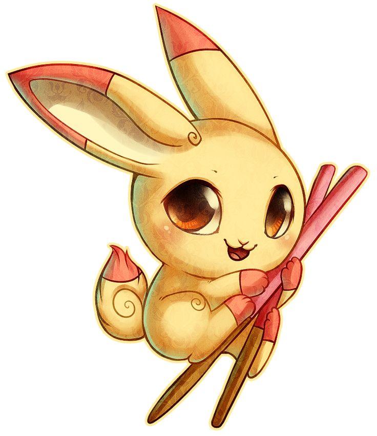 Pocky Bunny By Fox Feathers Deviantart Com On Deviantart
