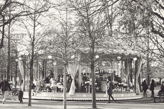 Carousel at the Graffiti at the Tuilerie Gardens in Paris | photography by http://www.kissthefrogx.com/