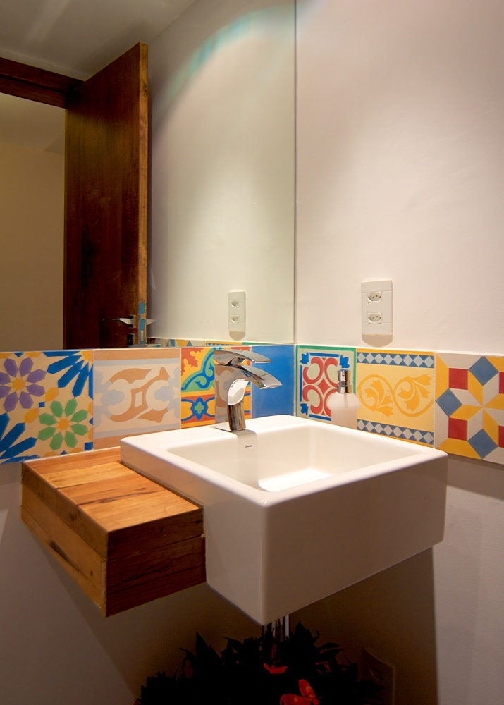 Ladrilho hidr ulico banheiro pinterest bath and - Ladrillo hidraulico ...