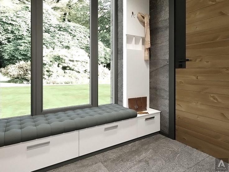 дизайн дома в современном стиле/прихожая