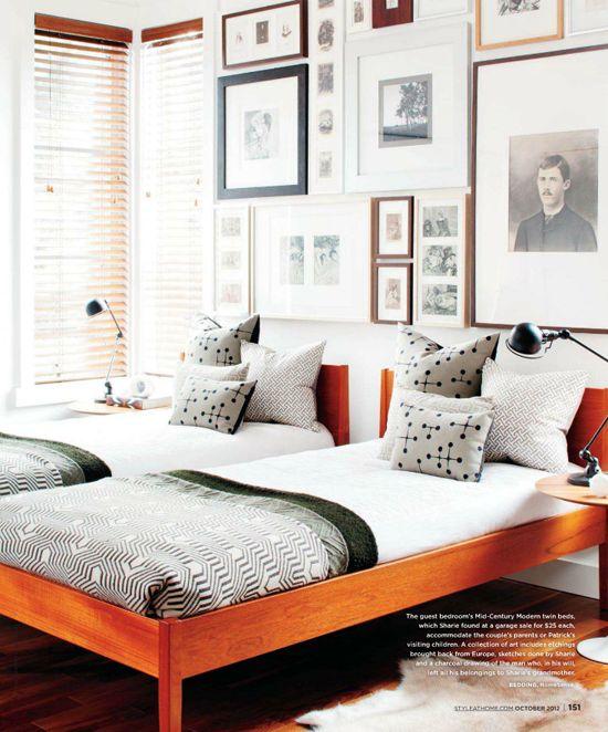 25 best ideas about orange bedding on pinterest bright for Black white and orange bedroom