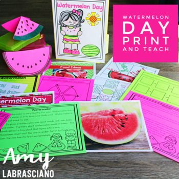 Every teacher knows how hard it is to keep the kids learning until the last day of the year. Treat your students to a fun Watermelon Day! Engage your students with differentiated reading passages about watermelons that are perfect for your elementary students! Easily plan and differentiate your reading instruction with this low prep, print and go resource that includes a ton of fun hands-on resources. Great for reading, writing and science connections. {first, second, third, homeschool}
