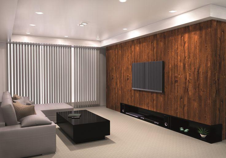 Placa decorativa Línea VETA. Placa VIVANT. Más que un estilo, nuestros diseños son un intento de estar siempre en la frontera de la innovación. Lo esencial es tener el ánimo de avanzada dentro de lo clásico de la madera. ¿Qué nos inspiró? La Naturaleza, solo eso. Ideal para espacios donde el relax y el descanso son primordiales.
