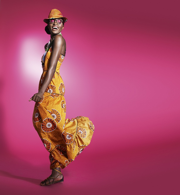 Floral batik seshwe-shwe maxi dress *SpiritOfAfrica