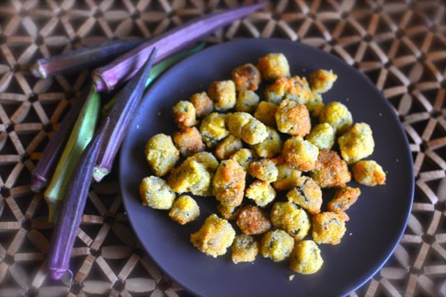 How to Make Fried Okra. Fried okra doesn't need to be purchased in the store in a frozen bag. You can create your own fried okra magic at home