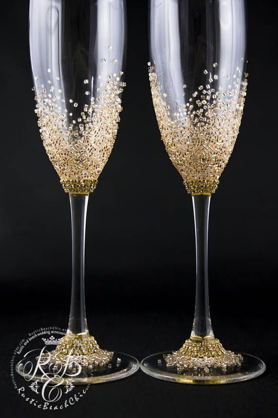 Personalized Wedding Flutes Wedding Champagne Flutes Champagne Glasses Rustic Toast Tacas Decoradas Para Casamento Copos De Vinho Decorado Tacas Decorativas