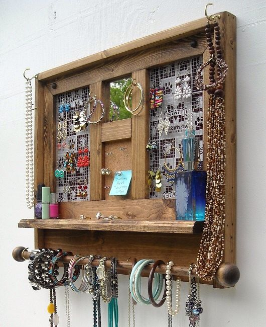 Collegiate, Jewelry Organizer With Mirror, Jewelry Organizer, Dorm Room, Mississippi  State, Part 58